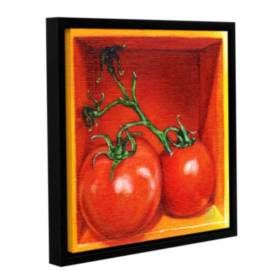 Brushstone Tomayto Tomahto Gallery Wrapped Floater-Framed Canvas Wall Art