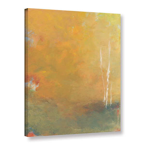 Brushstone Three Trees Gallery Wrapped Canvas WallArt