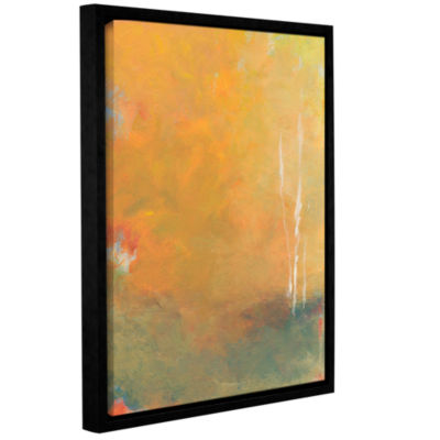 Brushstone Three Trees Gallery Wrapped Floater-Framed Canvas Wall Art