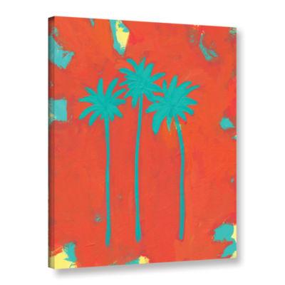 Brushstone Three Palms Gallery Wrapped Canvas WallArt