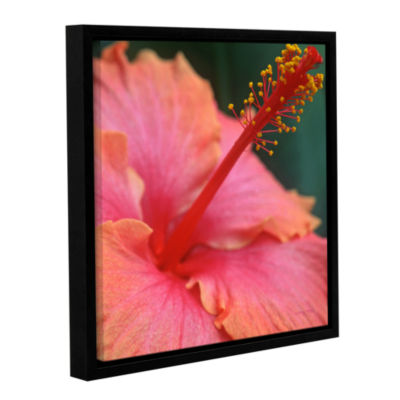 Brushstone Tropical Beauty Gallery Wrapped Floater-Framed Canvas Wall Art