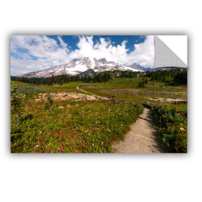 Brushstone The Path To Mt Rainier Removable Wall Decal