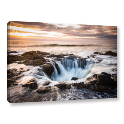 Brushstone Thors Well Gallery Wrapped Canvas WallArt