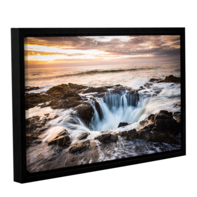 Brushstone Thors Well Gallery Wrapped Floater-Framed Canvas Wall Art