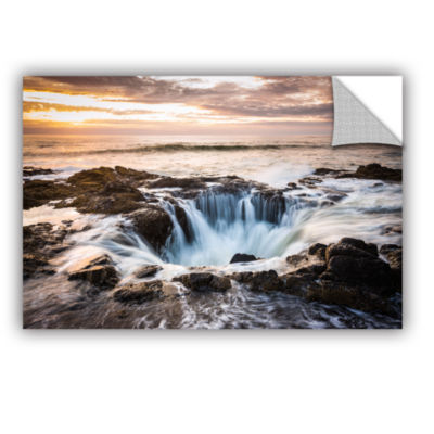 Brushstone Thors Well Removable Wall Decal