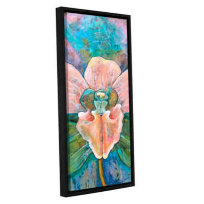 Brushstone Transcendence Gallery Wrapped Floater-Framed Canvas Wall Art
