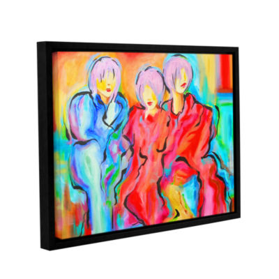 Brushstone The Consensus Gallery Wrapped Floater-Framed Canvas Wall Art
