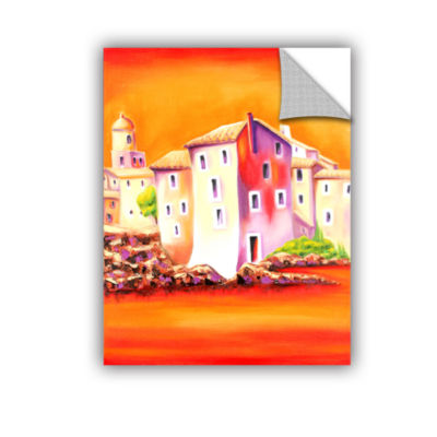 Brushstone Sunset Removable Wall Decal