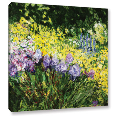 Brushstone Sunshine Blossoms Gallery Wrapped Canvas Wall Art