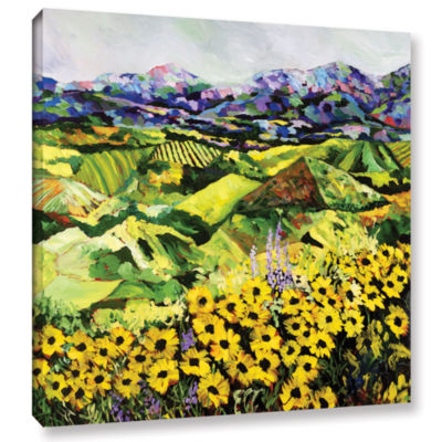 Brushstone Sweet Bluff Gallery Wrapped Canvas WallArt