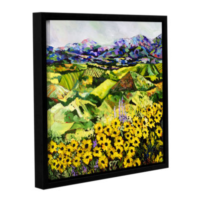 Brushstone Sweet Bluff Gallery Wrapped Floater-Framed Canvas Wall Art