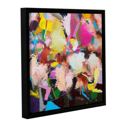 Brushstone The Can Can Gallery Wrapped Floater-Framed Canvas Wall Art
