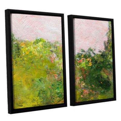 Brushstone Swindon 2-pc. Floater Framed Canvas Wall Art