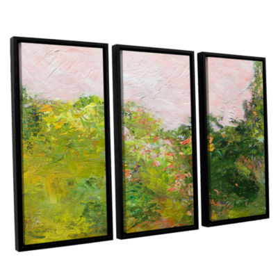 Brushstone Swindon 3-pc. Floater Framed Canvas Wall Art