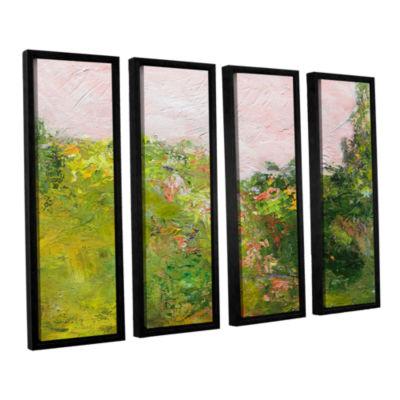 Brushstone Swindon 4-pc. Floater Framed Canvas Wall Art