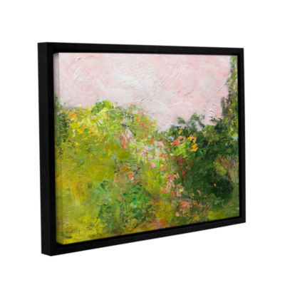 Brushstone Swindon Gallery Wrapped Floater-FramedCanvas Wall Art