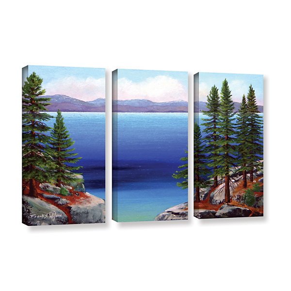 Brushstone Tahoe Dreams 3-pc. Gallery Wrapped Canvas Wall Art
