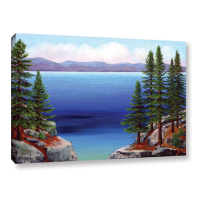 Brushstone Tahoe Dreams Gallery Wrapped Canvas Wall Art
