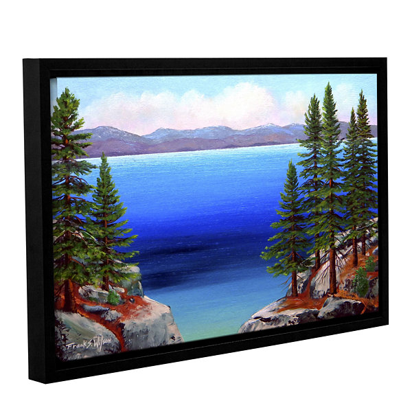 Brushstone Tahoe Dreams Gallery Wrapped Floater-Framed Canvas Wall Art