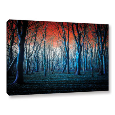 Brushstone The Blue Forest Gallery Wrapped CanvasWall Art