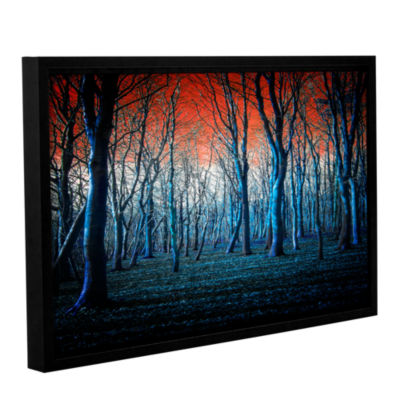 Brushstone The Blue Forest Gallery Wrapped Floater-Framed Canvas Wall Art