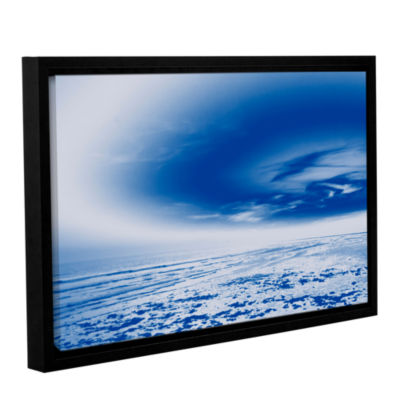 Brushstone The Blue Sea Gallery Wrapped Floater-Framed Canvas Wall Art