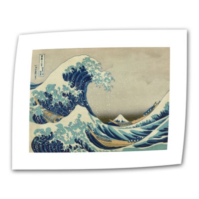 Brushstone The Great Wave Off Kanagawa Canvas WallArt