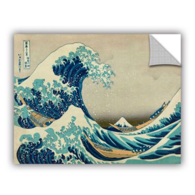 Brushstone The Great Wave Off Kanagawa Removable Wall Decal