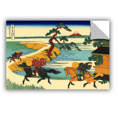 Brushstone The Fields Of Sekiya By The Sumida River Removable Wall Decal