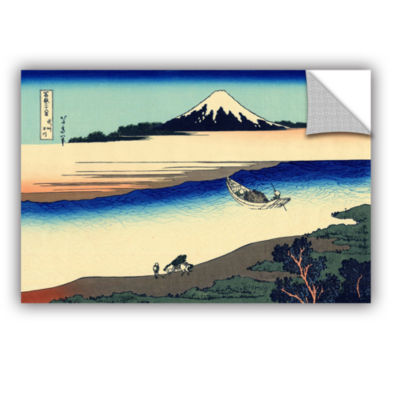 Brushstone Tama River In The Province Of Misushi Removable Wall Decal