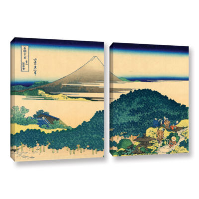 Brushstone The Coast Of Seven Leagues In Kamajura2-pc. Gallery Wrapped Canvas Wall Art