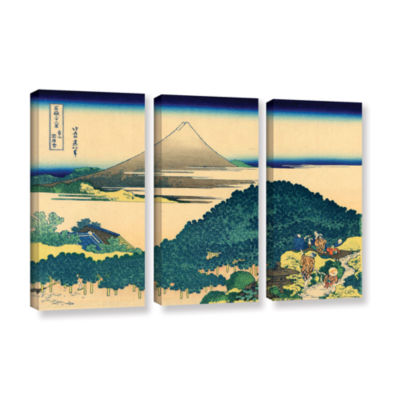 Brushstone The Coast Of Seven Leagues In Kamajura3-pc. Gallery Wrapped Canvas Wall Art
