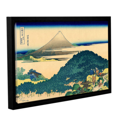 Brushstone The Coast Of Seven Leagues In KamajuraGallery Wrapped Floater-Framed Canvas Wall Art