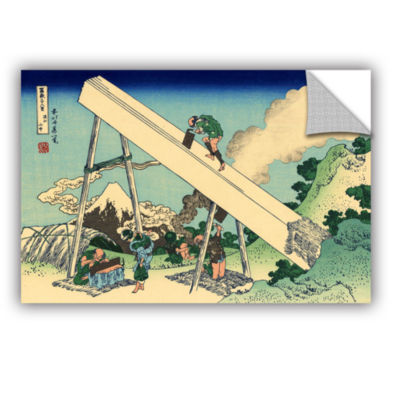 Brushstone The Fuji From The Mountains Of Totomi Removable Wall Decal