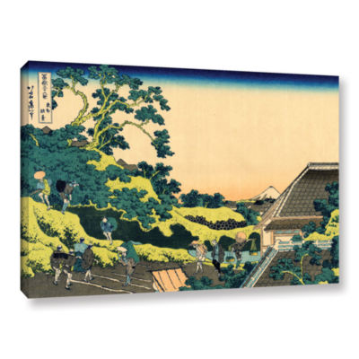 Brushstone The Fuji Seen From The Mishima Pass Gallery Wrapped Canvas Wall Art
