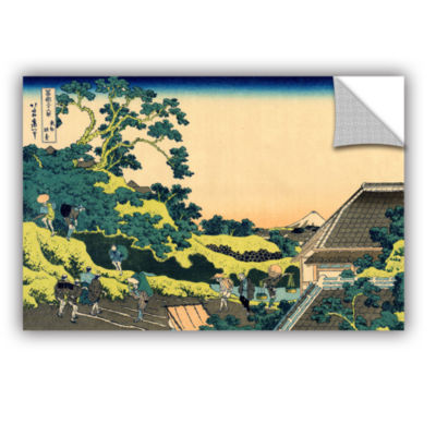 Brushstone The Fuji Seen From The Mishima Pass Removable Wall Decal