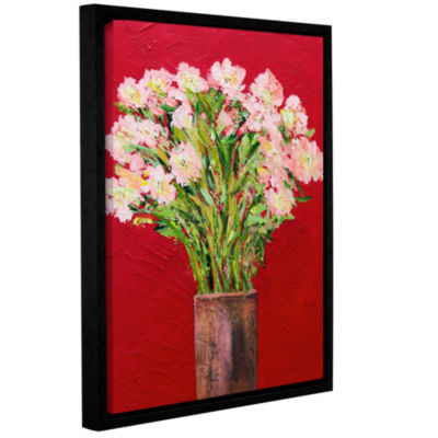 Brushstone Villa D'Este Garden Gallery Wrapped Floater-Framed Canvas Wall Art