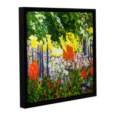Brushstone Under The Branch Gallery Wrapped Floater-Framed Canvas Wall Art