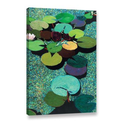 Brushstone Valdosta Pond Gallery Wrapped Canvas
