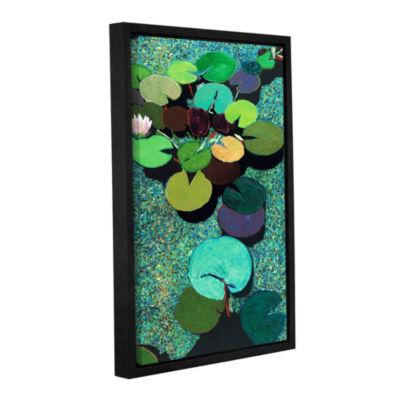 Brushstone Valdosta Pond Gallery Wrapped Floater-Framed Canvas