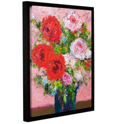 Brushstone Victoria Gallery Wrapped Floater-FramedCanvas Wall Art