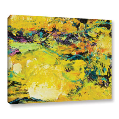 Brushstone Watermelon Patch Gallery Wrapped Canvas