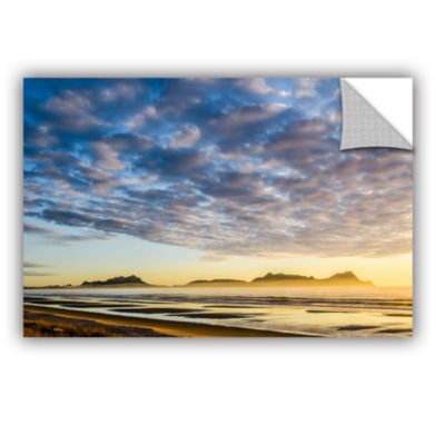 Brushstone Sunrise At Lang's Beach Removable WallDecal