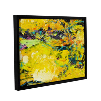 Brushstone Watermelon Patch Gallery Wrapped Floater-Framed Canvas