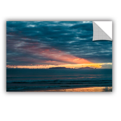Brushstone Sunrise At Sandy Bay Removable Wall Decal