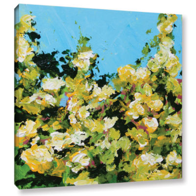 Brushstone Versaille Garden Gallery Wrapped Canvas
