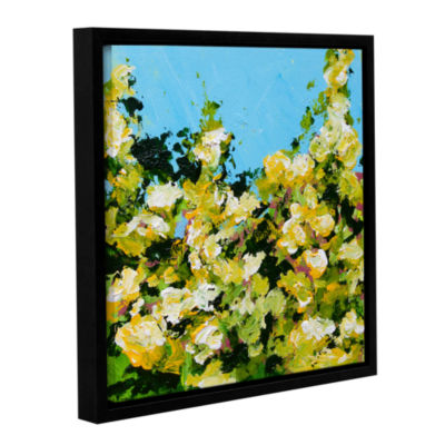 Brushstone Versaille Garden Gallery Wrapped Floater-Framed Canvas
