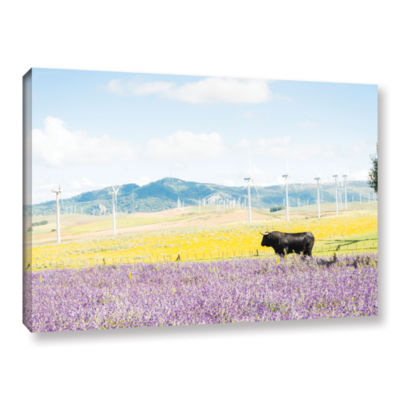 Brushstone The Black Bull And Giants Gallery Wrapped Canvas Wall Art