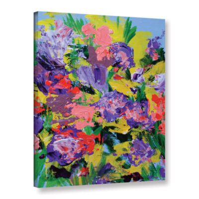 Brushstone Villa Adriana Garden Gallery Wrapped Canvas