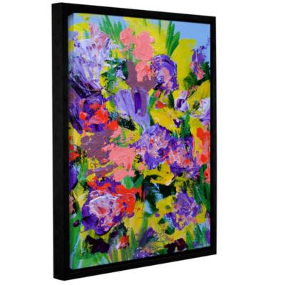 Brushstone Villa Adriana Garden Gallery Wrapped Floater-Framed Canvas